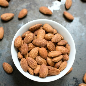 Dry Roasted Almonds Recipe