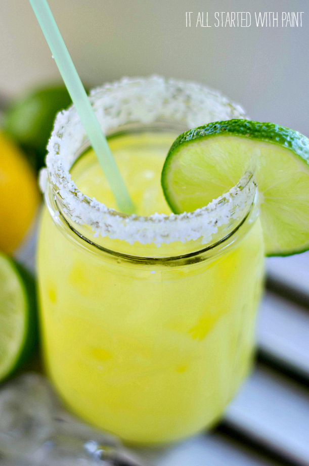 Mason Jar Margarita
