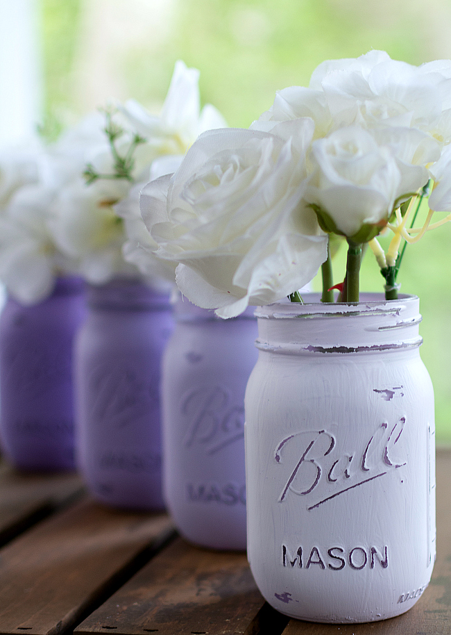painted-mason-jars-lavender-ombre 1 (2 of 2) 2