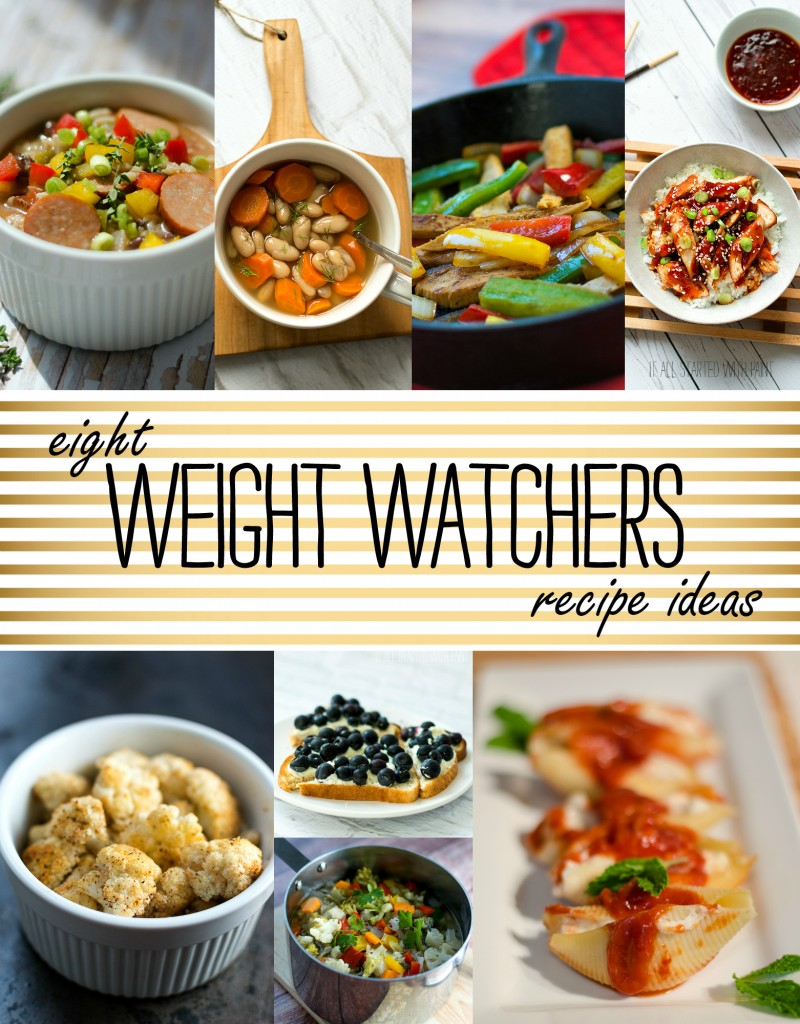 Weight Watcher Recipe Ideas: Collection of Recipe for Lunch, Dinner & Breakfast