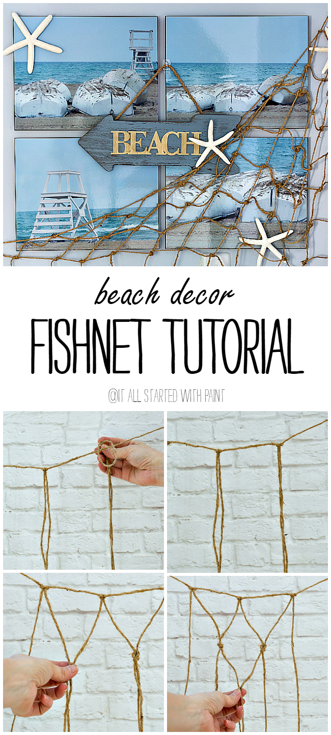 Beach wall decor it all started with paint for Coastal wall decor ideas