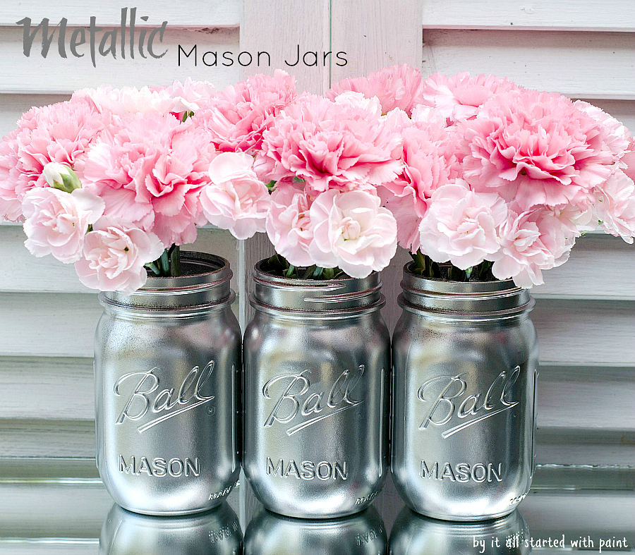 Decorated Mason Jars For Sale Amazing How To Paint And Distress Mason Jars Decorating Inspiration