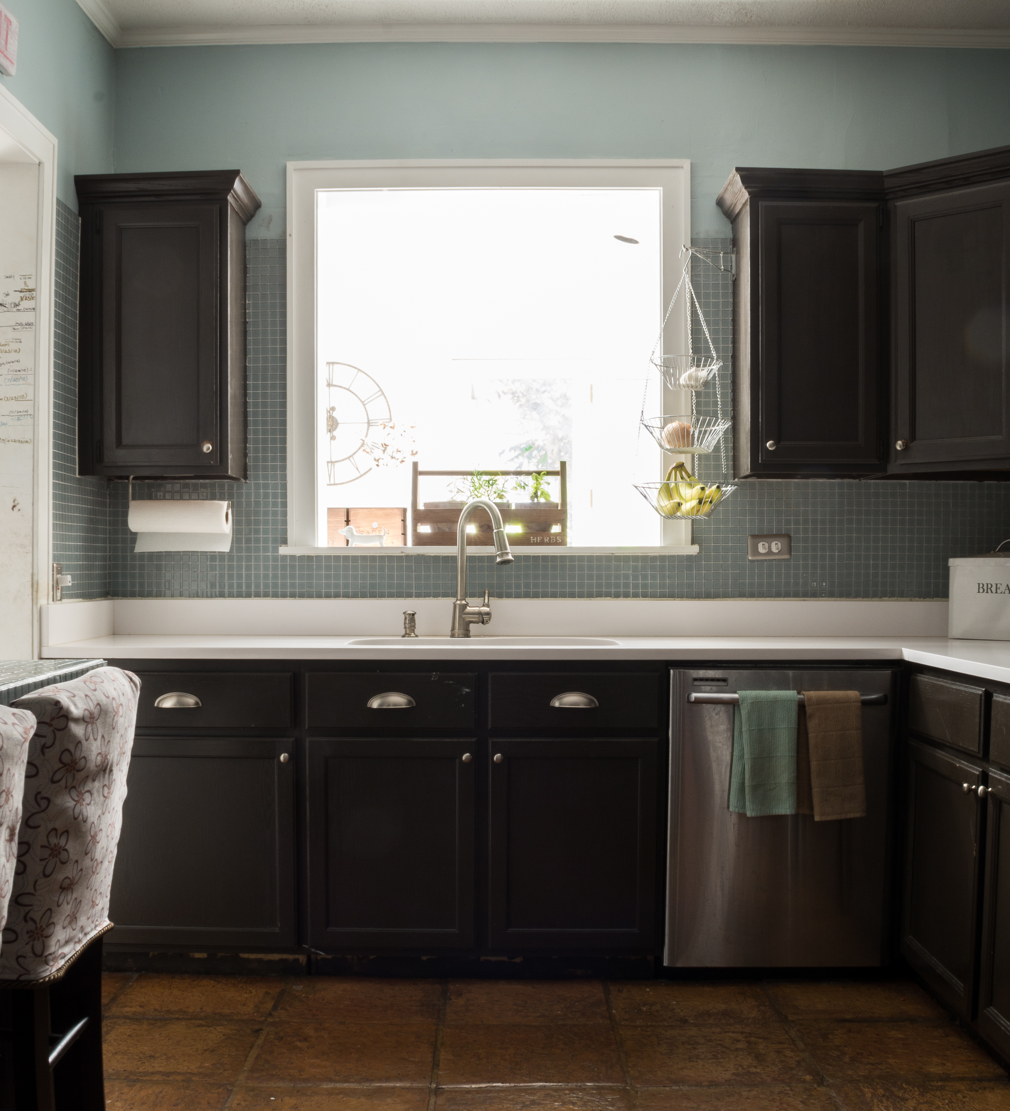 painting-builder-grade-kitchen-cabinets (1 of 15) - It All ...