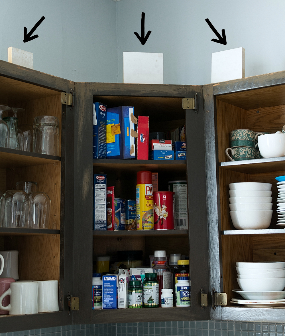 How To Add Height To Kitchen Cabinets Without Power Tools