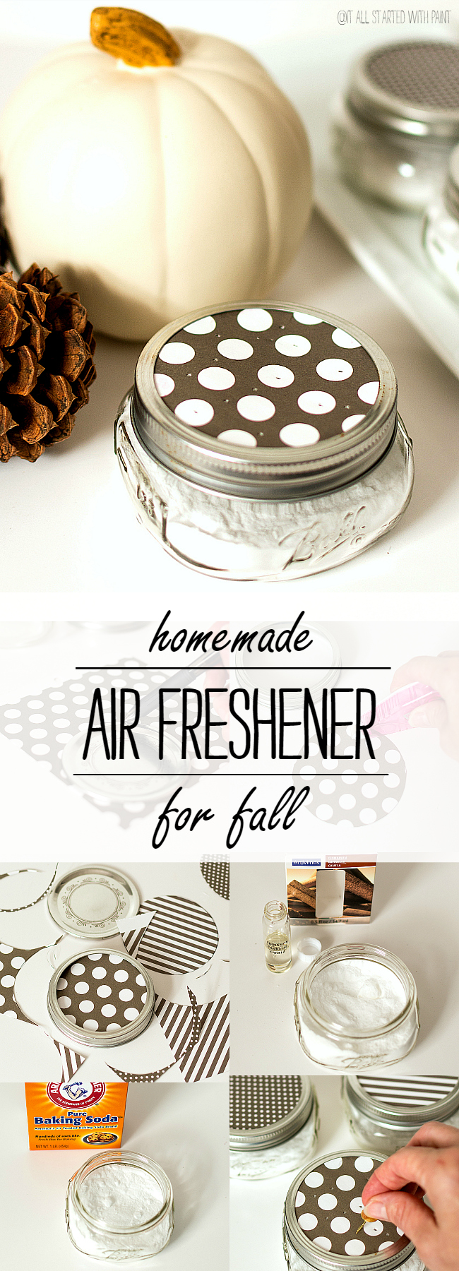 Homemade Air Freshener for Fall Scent