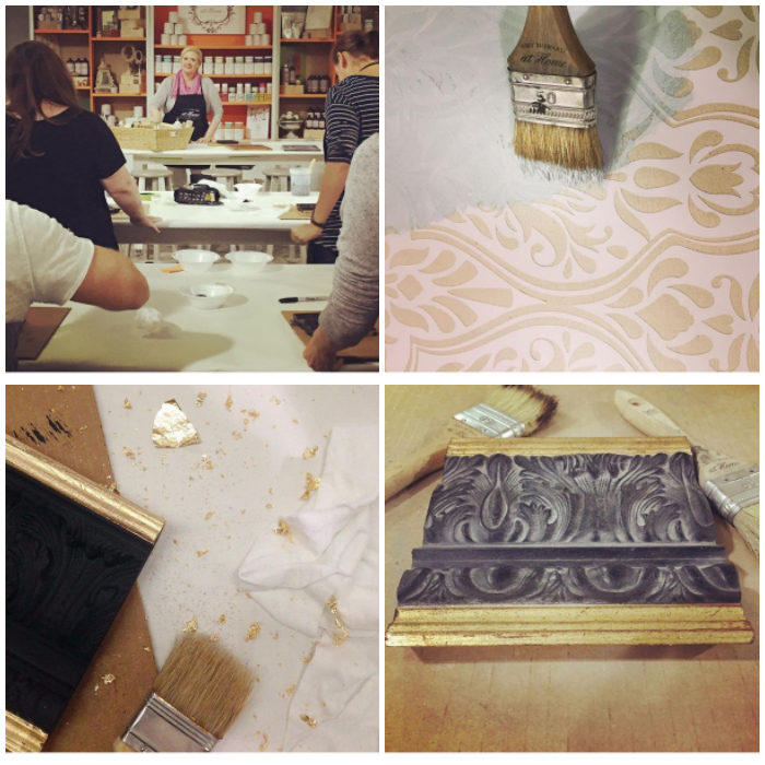 Amy Howard At Home Paint Finish Workshop with Ace