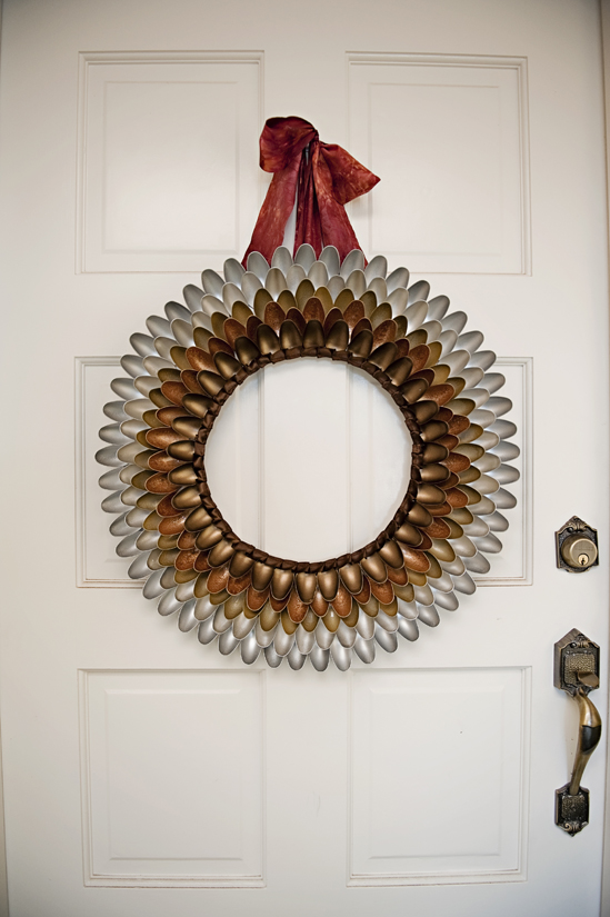 Fall Wreath With Paint
