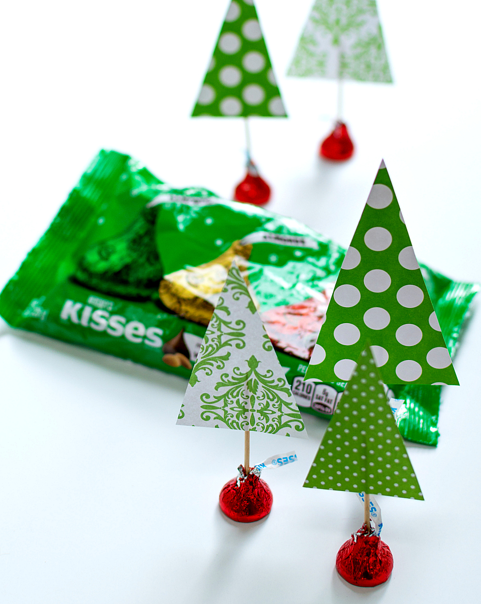Christmas Craft With Hershey Kisses