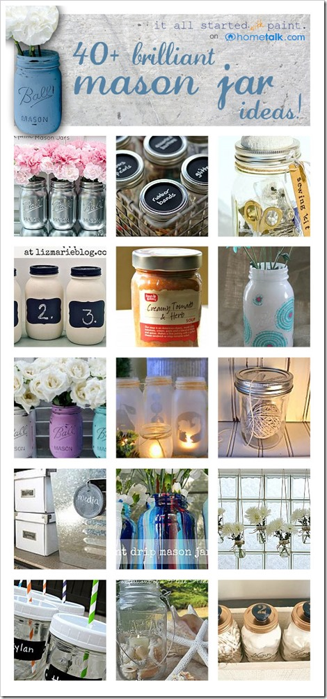 Mason Jar Craft Project Ideas