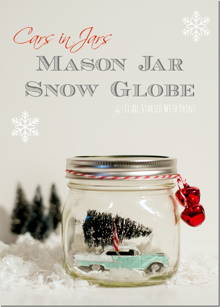 Mason Jar Christmas Craft Idea