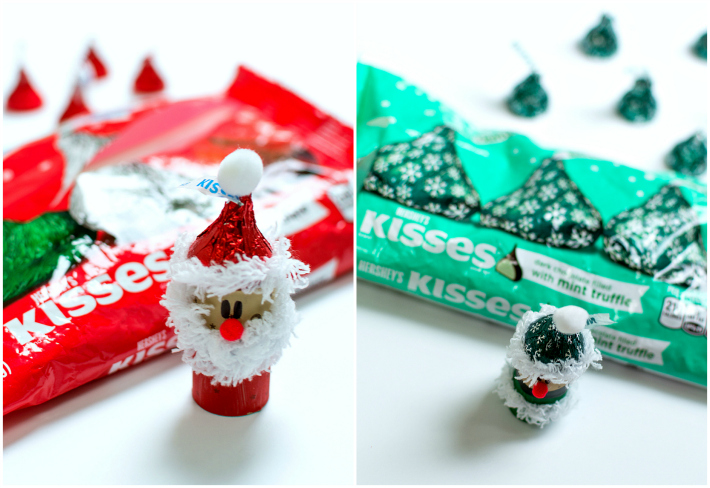 Hershey Kisses Holiday Craft Ideas
