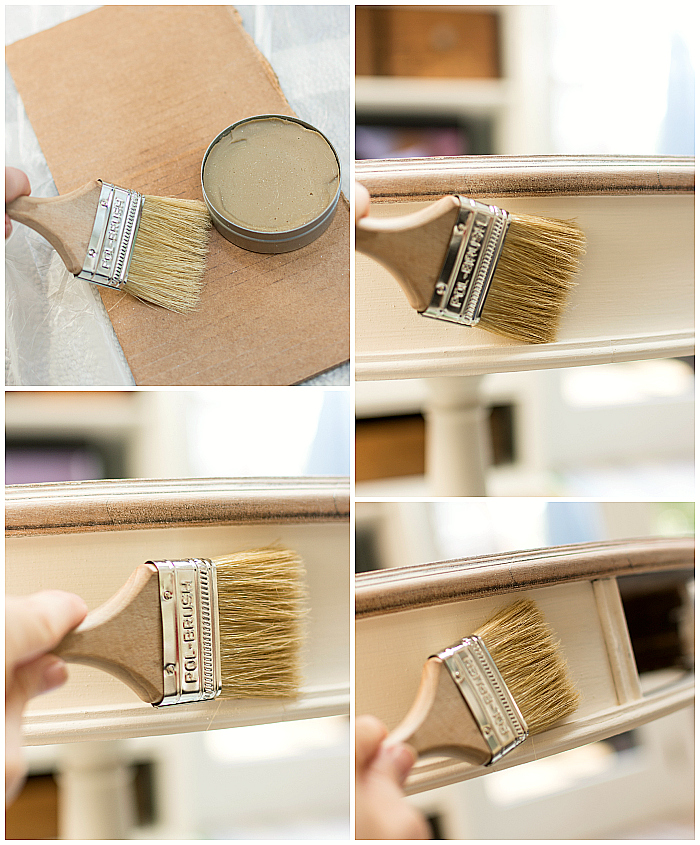 Waxing Furniture with Amy Howard at Home Paints and Waxes