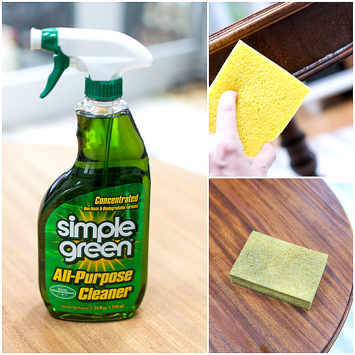 How To Whitewash Veneer Using Lime Wax from Amy Howard and Ace Hardware