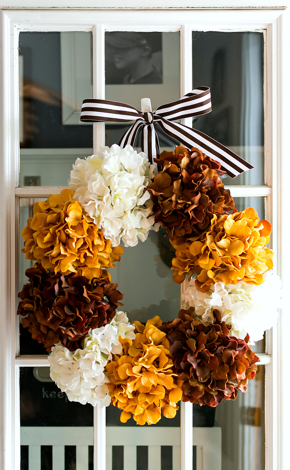 How To Make Hydrangea Wreath