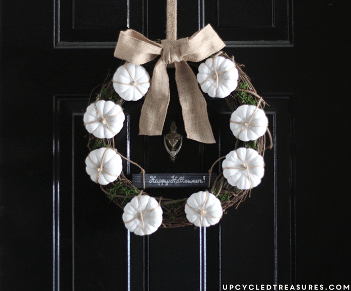 Fall Wreath Ideas Using Paint