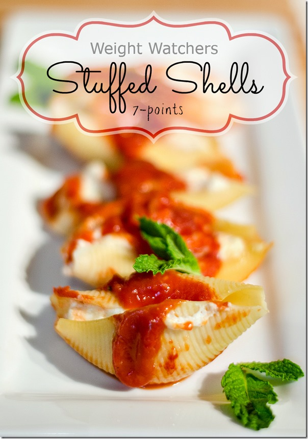 Weight Watchers Recipe Ideas for Dinner: Stuffed Shells