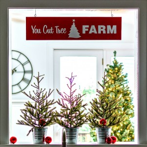 Christmas Tree Sign How To Make