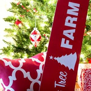 Christmas Craft Ideas: Christmas Tree Vintage Sign