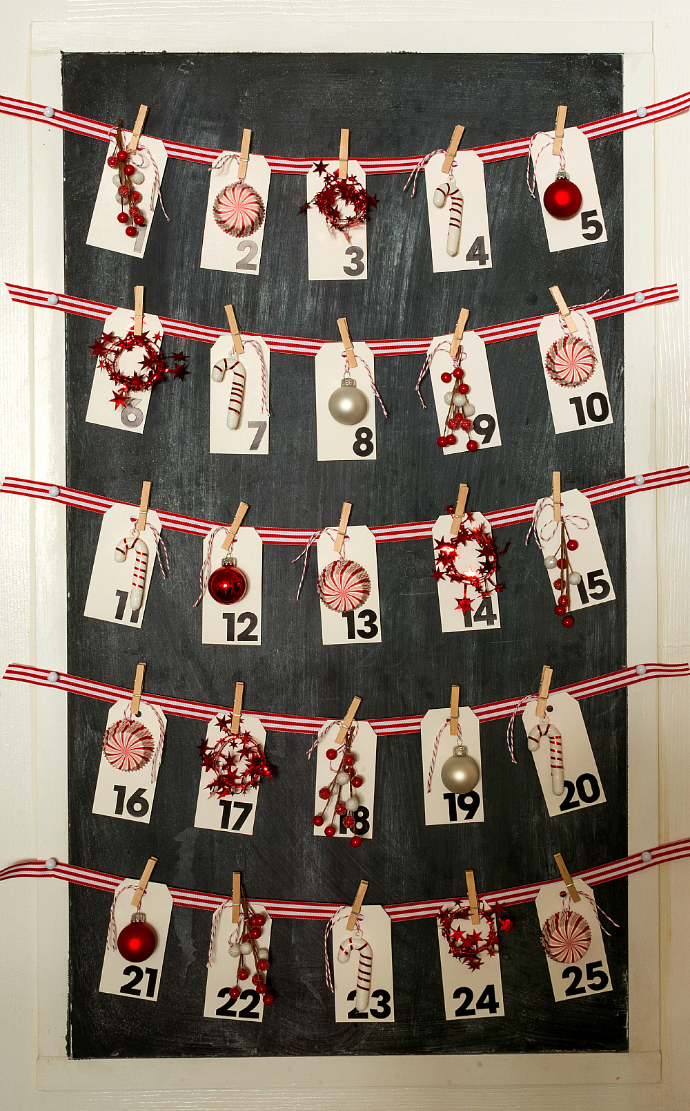 Christmas advent calendar for Diy christmas advent calendar ideas