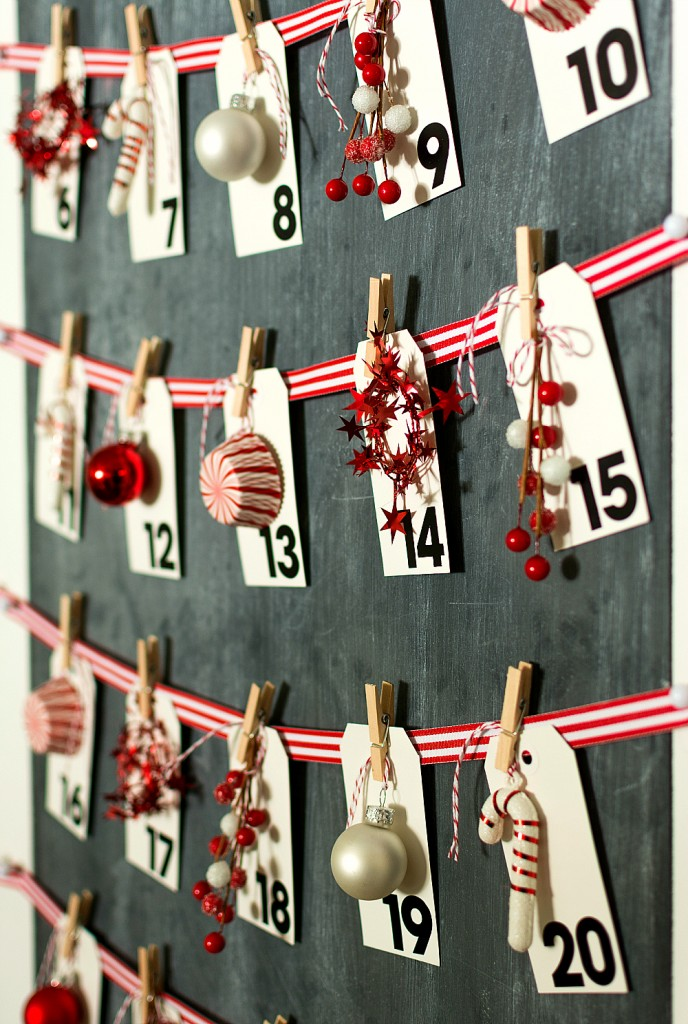 Christmas Calendar: Countdown Calendar DIY for Christmas