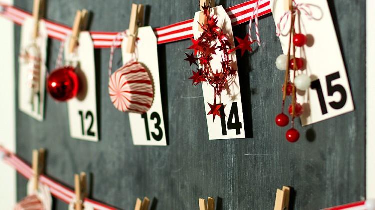 Christmas Calendar: Countdown Calendar DIY for Christmas