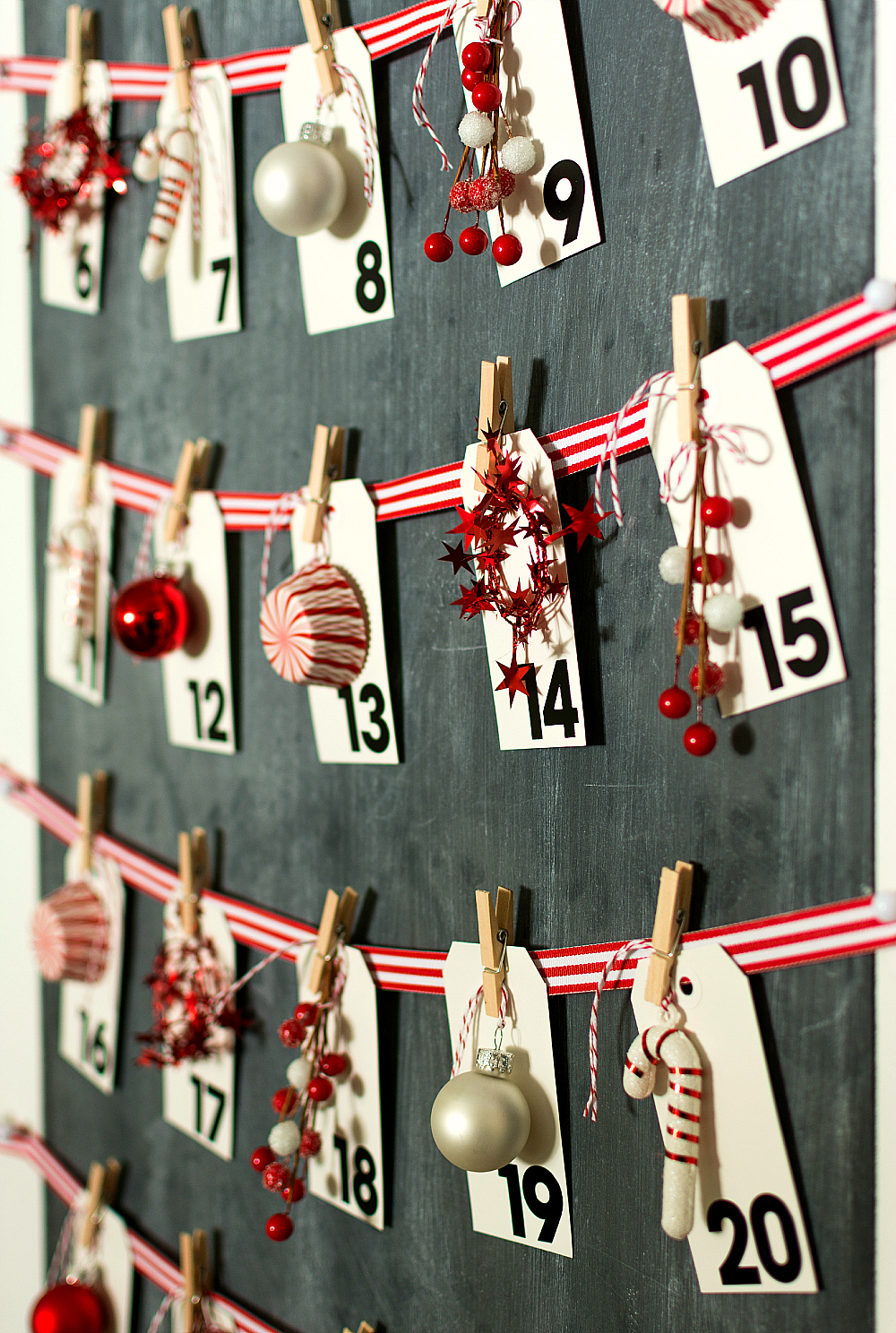 Diy Calendar Countdown : Christmas advent calendar
