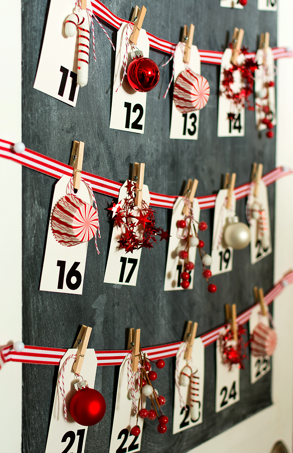 Christmas Craft Ideas: Advent Calendar How To Make Your Own
