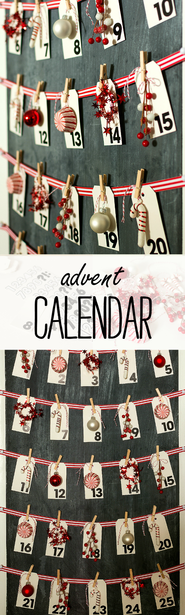 Christmas Craft Ideas: Advent Calendar Make Your Own