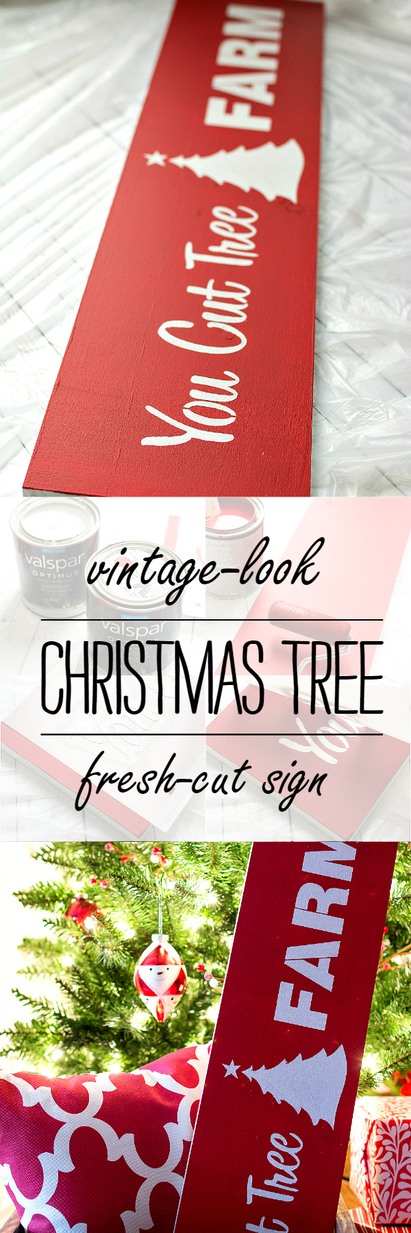 Christmas Craft Ideas: Fresh Cut Sign Stencil How To Make