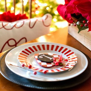 Red White Black Christmas Decor Ideas
