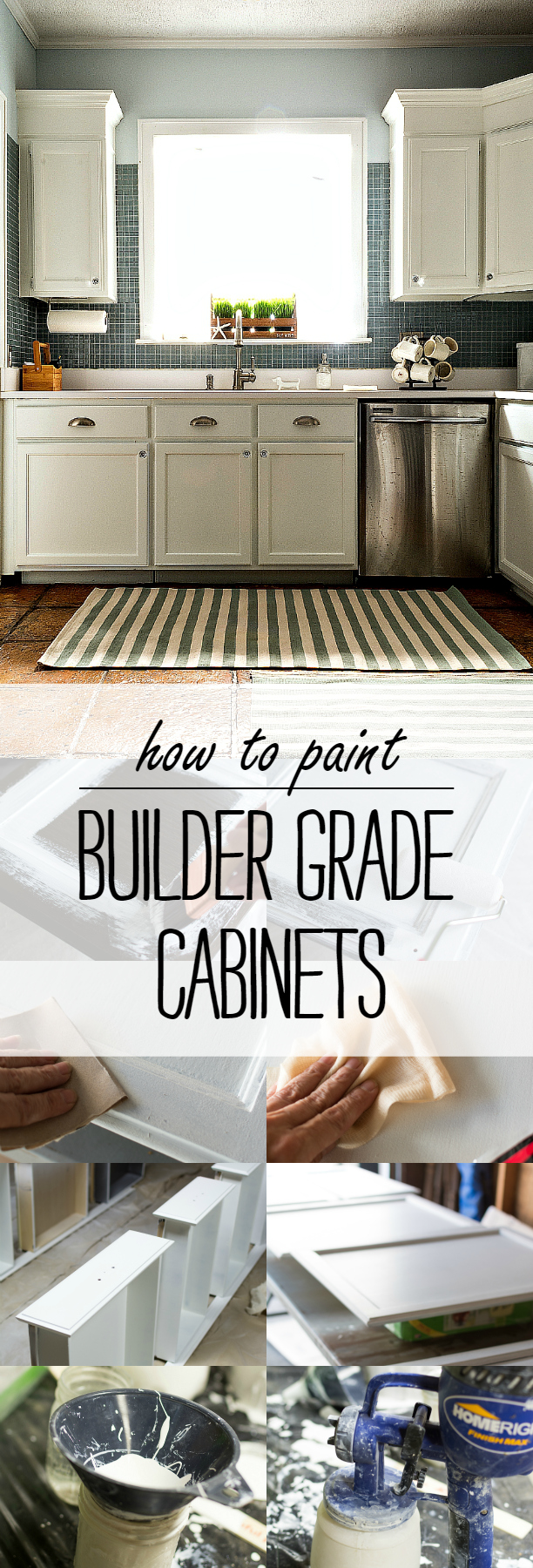 The Best Strategy To Use For Painting Your Builder Grade Kitchen Cabinets - Renovating ...