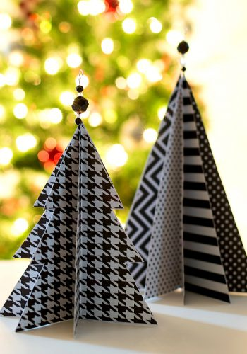 Christmas Craft: Paper Trees