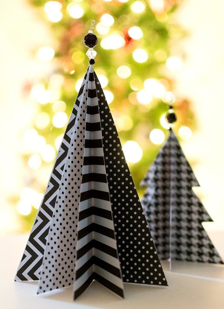 Christmas Craft Ideas For Kids Paper Trees
