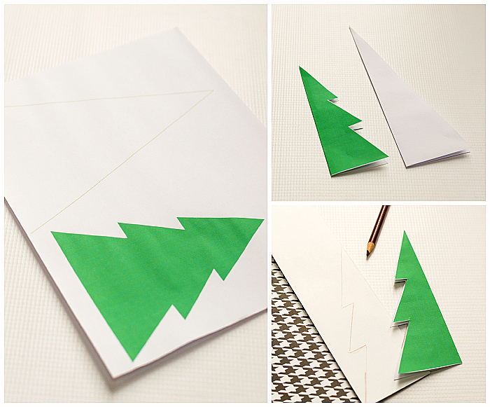 Christmas Craft Idea: Paper Trees DIY Tutorial