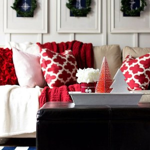 Sharing some red and white Christmas decor on the bloghellip