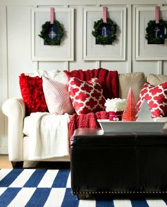 Christmas Home Tour: Entry & Living Room