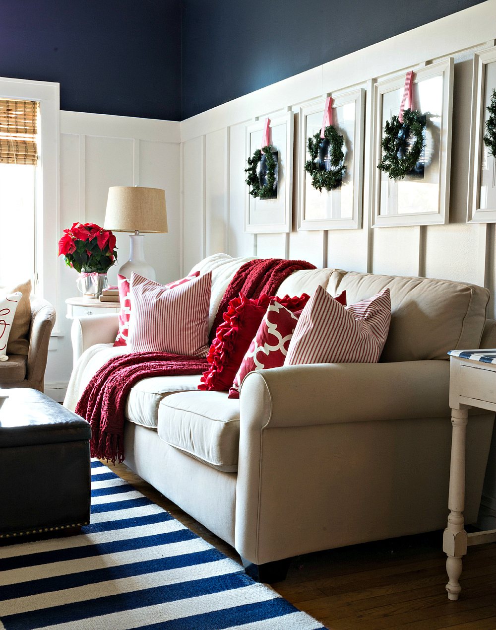 Red White Christmas Decor Ideas