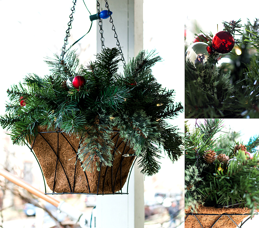 christmas decor outdoors a giveaway it all started