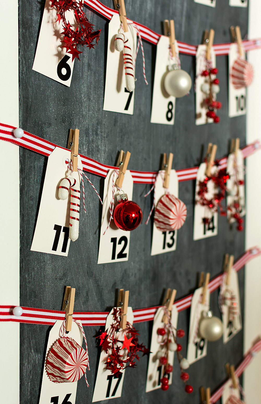 Christmas Countdown Advent Calendar DIY