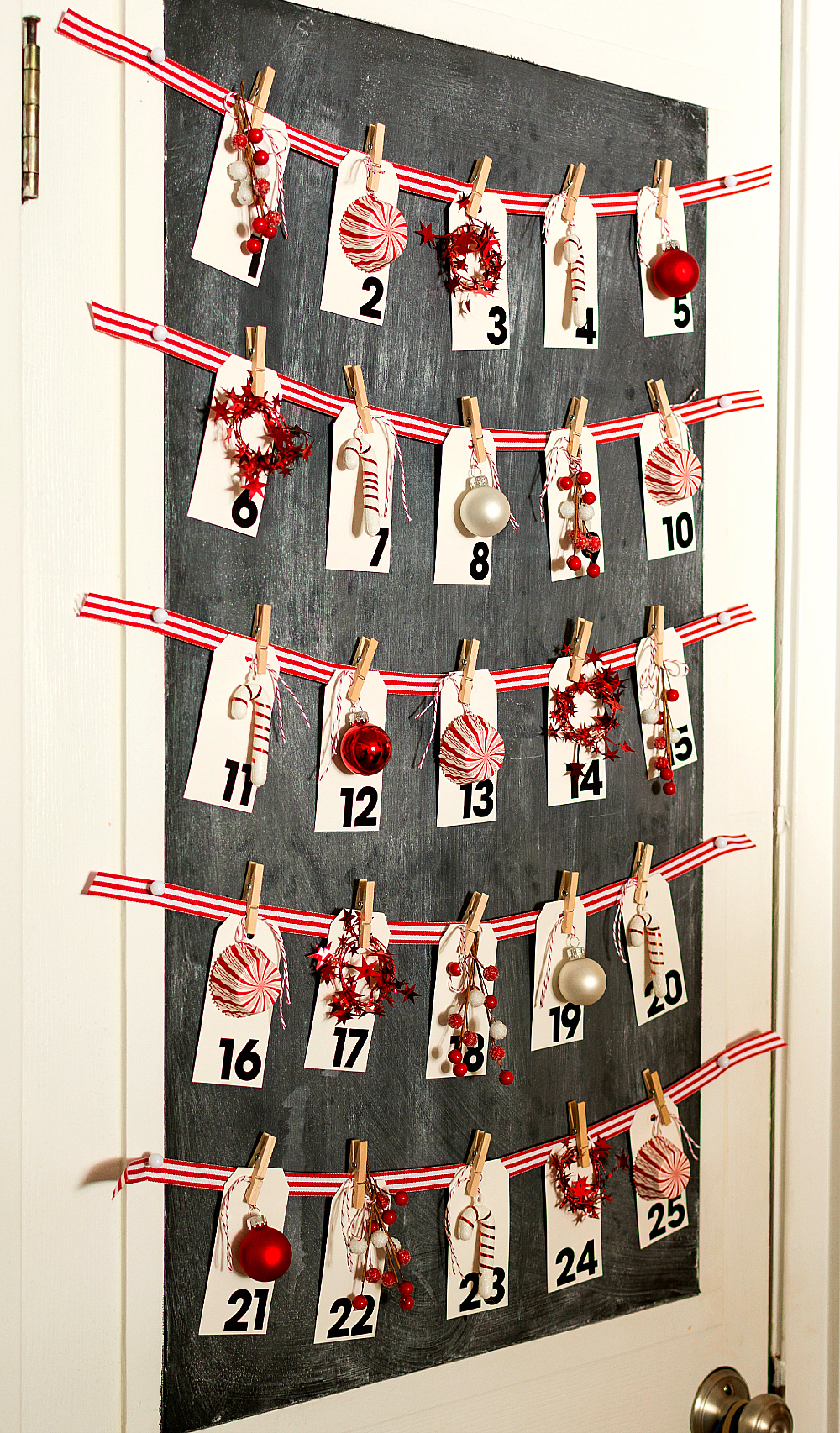 Christmas in the kitchen for Diy christmas advent calendar ideas
