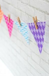 Paper Banner DIY