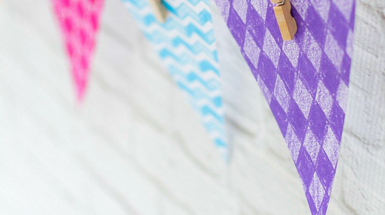 Paper Banner DIY - How To Make Paper Banner - Easy DIY