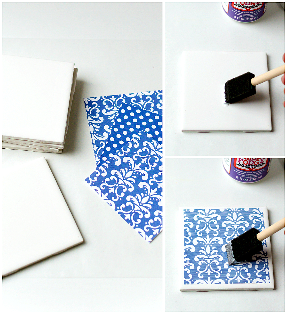 Diy Tile Coasters It All Started With Paint