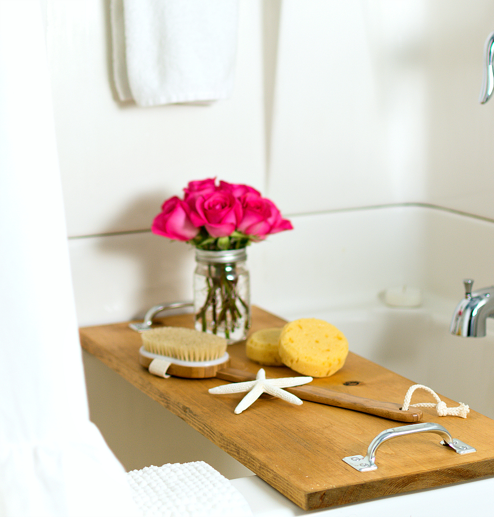 DIY Bath Caddy - It All Started With Paint