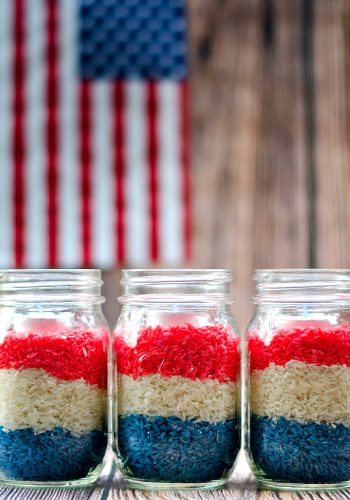 Red White Blue Craft for Fourth of July