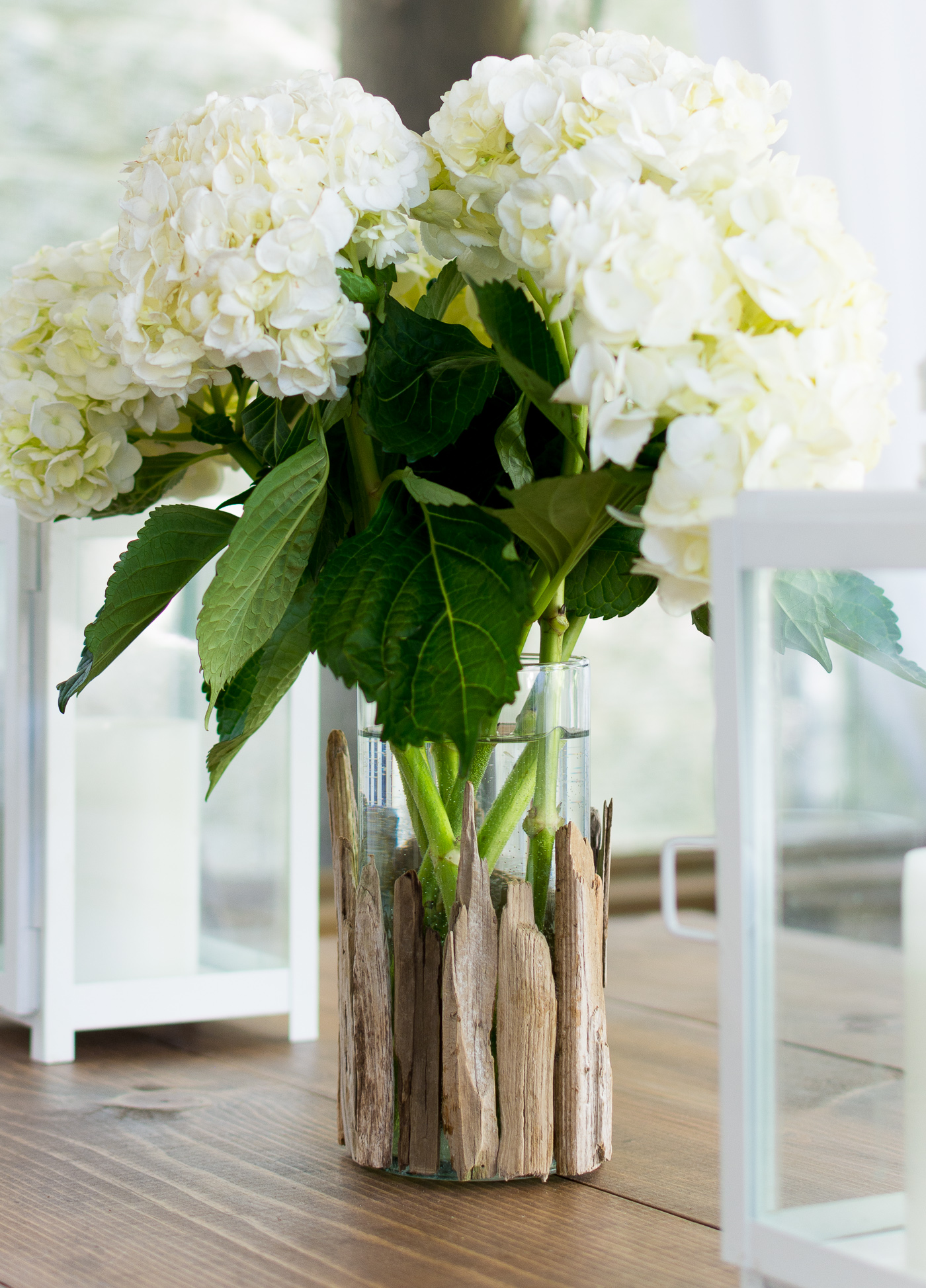 Coastal Decor with Driftwood