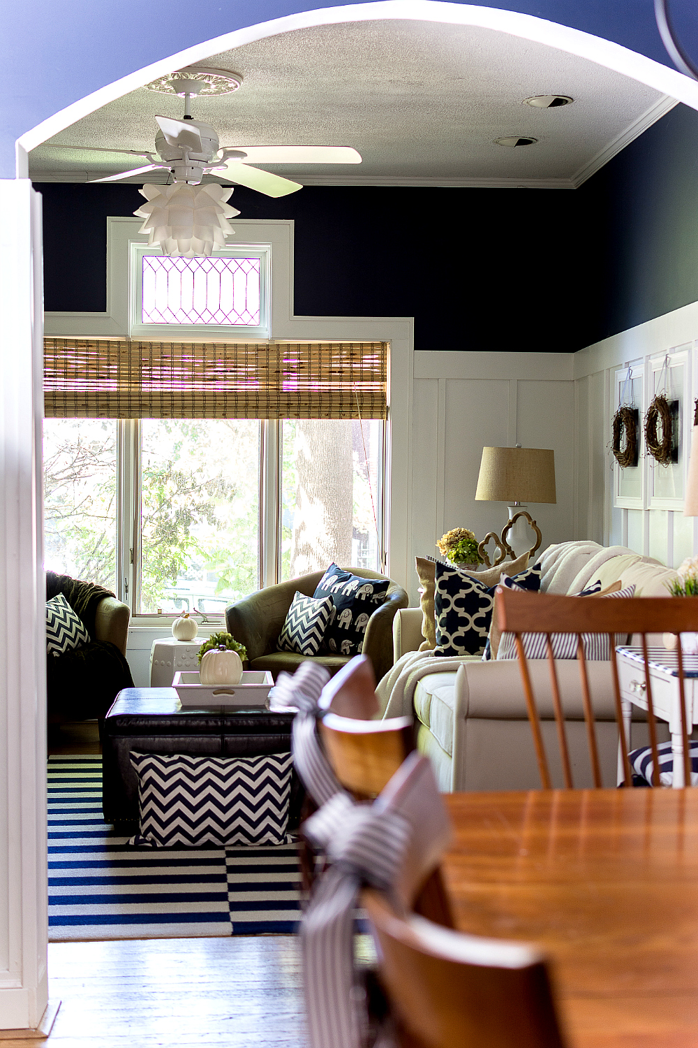 Fall Decorating Ideas Living and Dining Room
