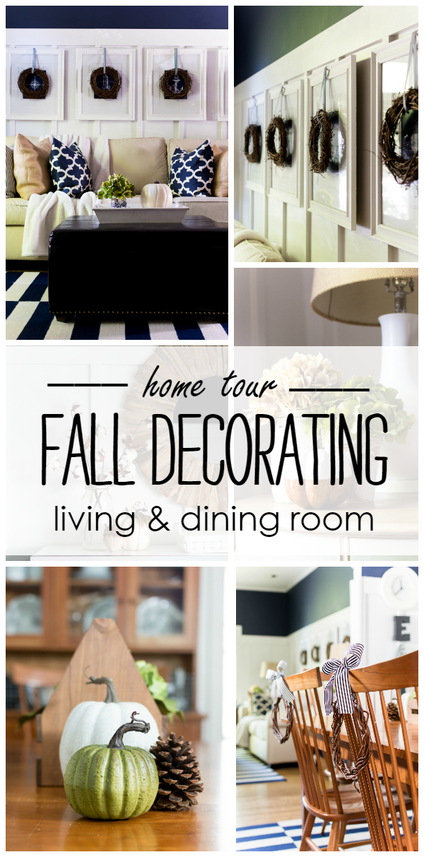Fall Dining Living Room Decorating Ideas
