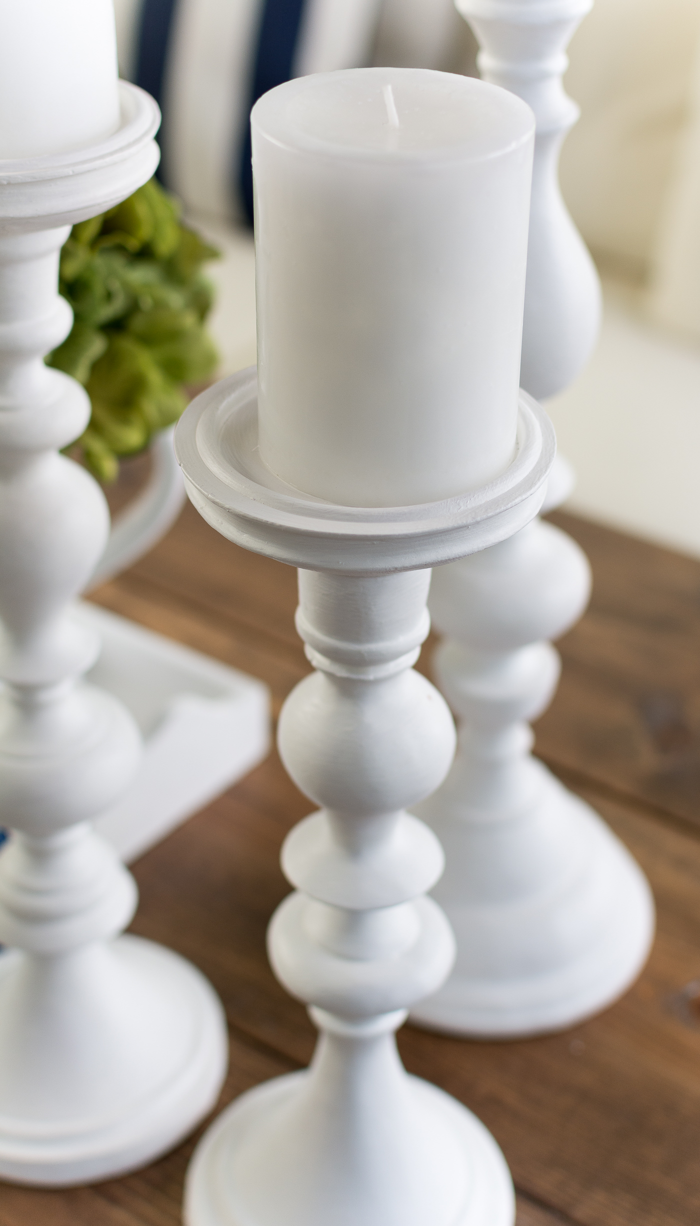 white chalk paint pillar makeover @itallstartedwithpaint.com-25