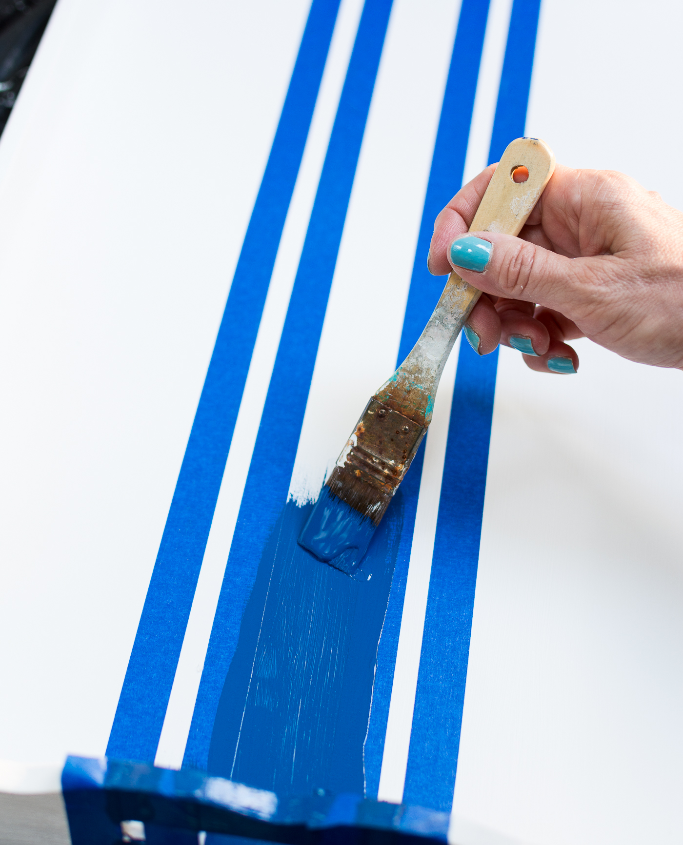 How To Paint Stripes @itallstartedwithpaint.com-5